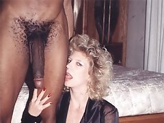 Cuckolds only get to lick the pussies addicted to big black meat